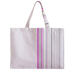 Lines Zipper Mini Tote Bag by ValentinaDesign