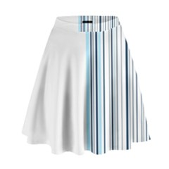 Lines High Waist Skirt by ValentinaDesign