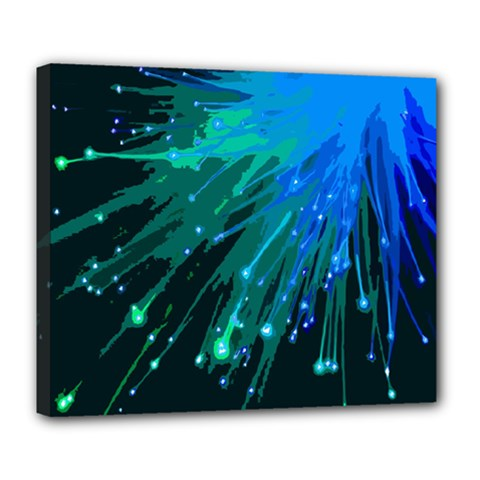 Big Bang Deluxe Canvas 24  X 20   by ValentinaDesign