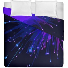 Big Bang Duvet Cover Double Side (king Size) by ValentinaDesign