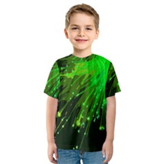Big Bang Kids  Sport Mesh Tee by ValentinaDesign