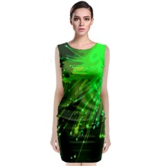 Big Bang Classic Sleeveless Midi Dress by ValentinaDesign