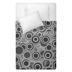 Abstract Grey End Of Day Duvet Cover Double Side (single Size) by Ivana