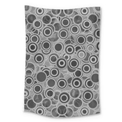 Abstract Grey End Of Day Large Tapestry by Ivana