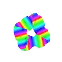 Rainbow Gradient Velvet Scrunchie