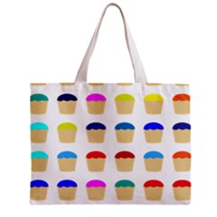 Colorful Cupcakes Pattern Mini Tote Bag