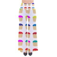 Colorful Cupcakes Pattern Pants by Nexatart