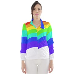 Rainbow Wind Breaker (women)