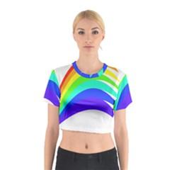 Rainbow Cotton Crop Top