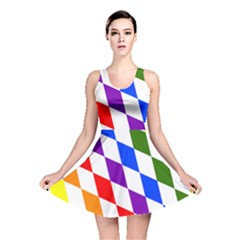 Rainbow Flag Bavaria Reversible Skater Dress