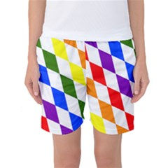 Rainbow Flag Bavaria Women s Basketball Shorts