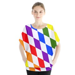 Rainbow Flag Bavaria Blouse