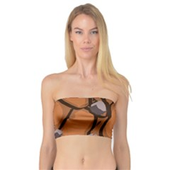 Seamless Dirt Texture Bandeau Top