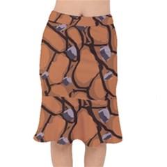 Seamless Dirt Texture Mermaid Skirt