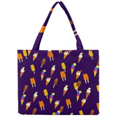 Seamless Ice Cream Pattern Mini Tote Bag by Nexatart