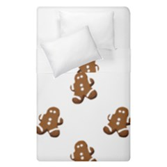 Gingerbread Seamless Pattern Duvet Cover Double Side (single Size) by Nexatart