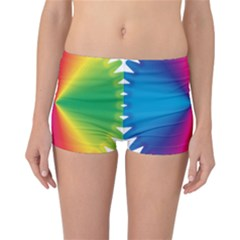 Rainbow Seal Re Imagined Reversible Bikini Bottoms