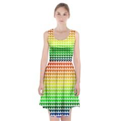 Rainbow Love Racerback Midi Dress