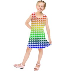 Rainbow Love Kids  Tunic Dress