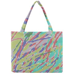 Crayon Texture Mini Tote Bag
