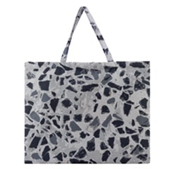 Textures From Beijing Zipper Large Tote Bag