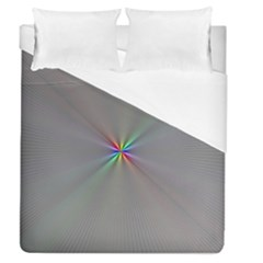 Square Rainbow Duvet Cover (queen Size) by Nexatart