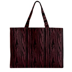Grain Woody Texture Seamless Pattern Zipper Mini Tote Bag by Nexatart