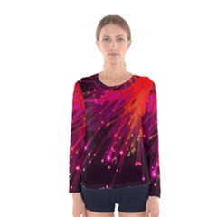Big Bang Women s Long Sleeve Tee by ValentinaDesign