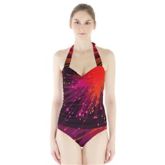Big Bang Halter Swimsuit by ValentinaDesign