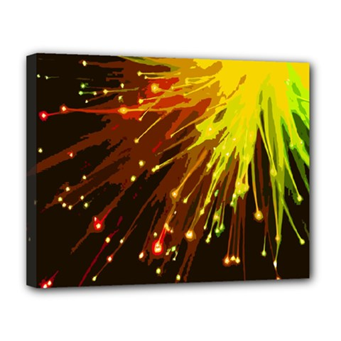 Big Bang Canvas 14  X 11  by ValentinaDesign