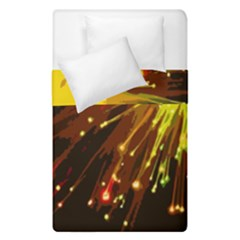 Big Bang Duvet Cover Double Side (single Size) by ValentinaDesign
