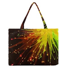 Big Bang Medium Zipper Tote Bag by ValentinaDesign