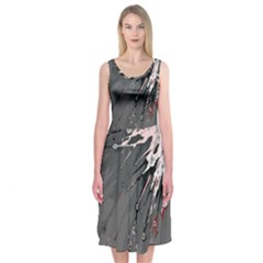 Big Bang Midi Sleeveless Dress by ValentinaDesign