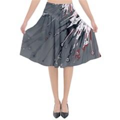 Big Bang Flared Midi Skirt by ValentinaDesign