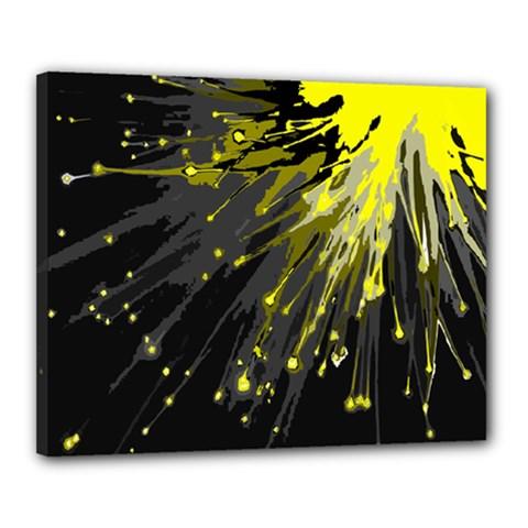 Big Bang Canvas 20  X 16  by ValentinaDesign