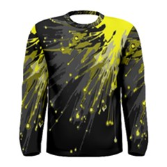 Big Bang Men s Long Sleeve Tee by ValentinaDesign