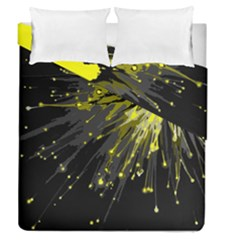 Big Bang Duvet Cover Double Side (queen Size) by ValentinaDesign