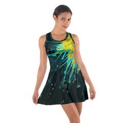 Big Bang Cotton Racerback Dress by ValentinaDesign
