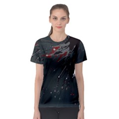 Big Bang Women s Sport Mesh Tee by ValentinaDesign