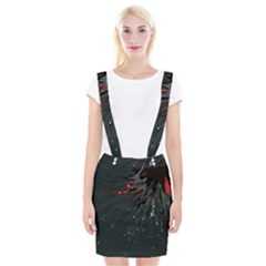Big Bang Braces Suspender Skirt by ValentinaDesign