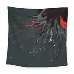Big Bang Square Tapestry (large) by ValentinaDesign