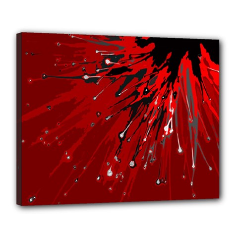 Big Bang Canvas 20  X 16  by ValentinaDesign