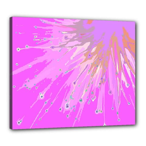 Big Bang Canvas 24  X 20  by ValentinaDesign