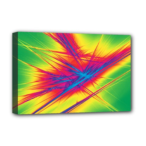 Big Bang Deluxe Canvas 18  X 12   by ValentinaDesign