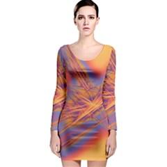 Big Bang Long Sleeve Bodycon Dress