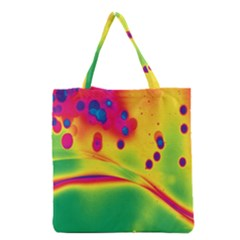 Lights Grocery Tote Bag by ValentinaDesign