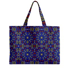 Colorful Ethnic Design Medium Tote Bag by dflcprints