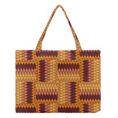 Geometric Pattern Medium Tote Bag by linceazul