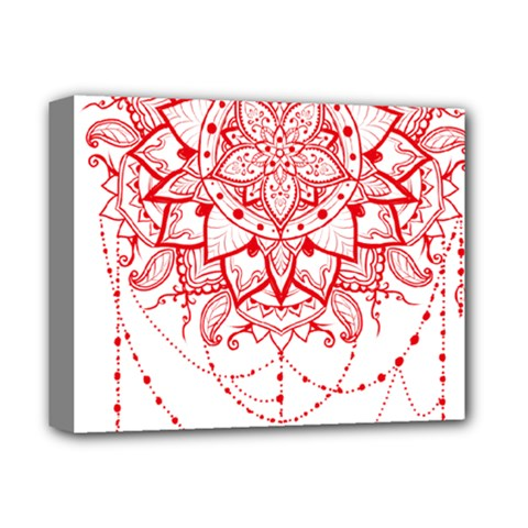 Mandala Pretty Design Pattern Deluxe Canvas 14  X 11