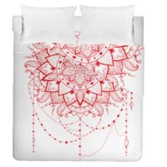 Mandala Pretty Design Pattern Duvet Cover Double Side (queen Size)